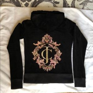 Gorgeous Juicy Couture Velour Jacket in Black
